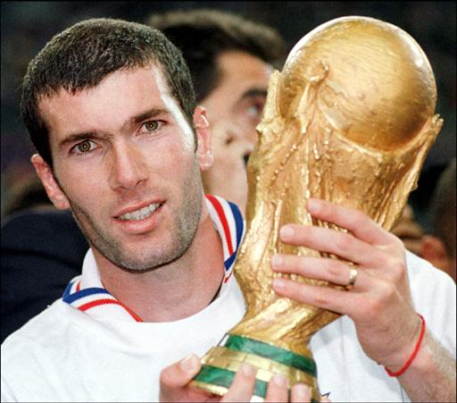 Zidane Fifa World Cup 1998