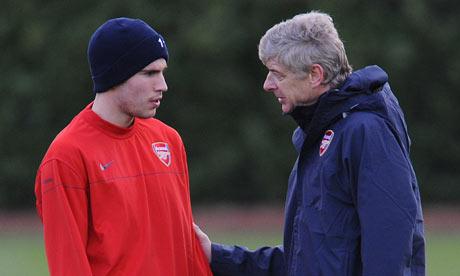 Arsene Wenger and Van Persie