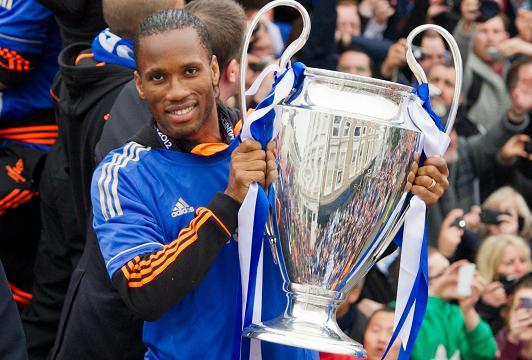 Didier Drogba Chelsea Champions League