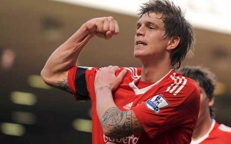 Liverpool Classic - Daniel Agger's Thunderbolt vs Blackburn Rovers