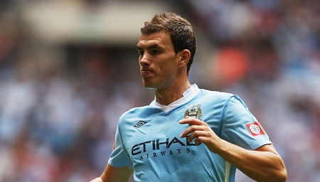Dzeko Not Versatile Enough and Must Leave Manchester City