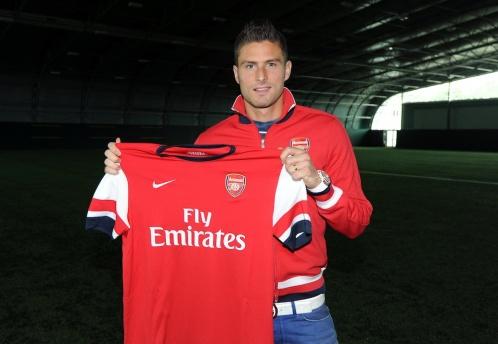 Olivier Giroud Gunner Arsenal