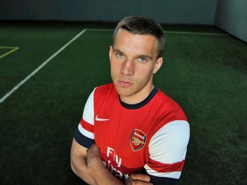 Podolski Gunner Arsenal