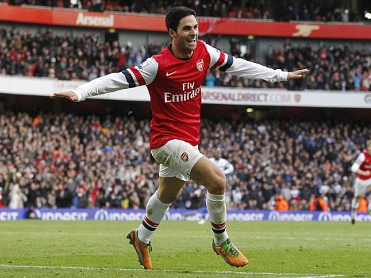 Arteta to be Handed Arsenal Captain's Armband On Permanent Basis?