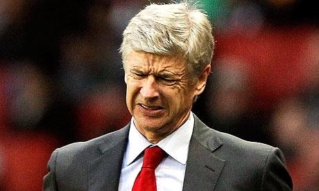 Arsene Wenger Upset