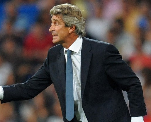 Manchester CIty Manager Pellegrini