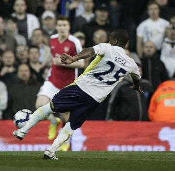 Danny Rose Spurs vs Arsenal