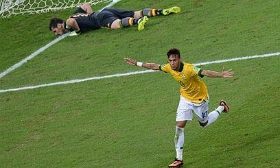 Neymar 2-0 Brazil