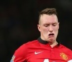 PICTURE - Phil Jones at It Again for Manchester United