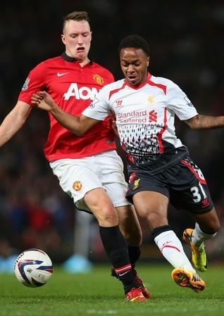 Phil Jones Wierd Face Sterling