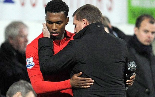 Sturridge Liverpool Rodgers