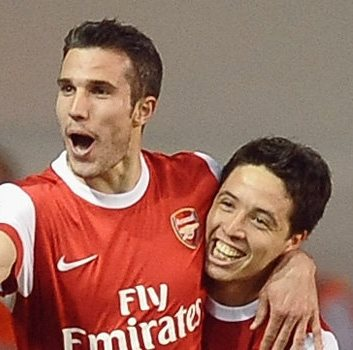 Arsenal Classic – Nasri and Van Persie Combine to Score against Liverpool