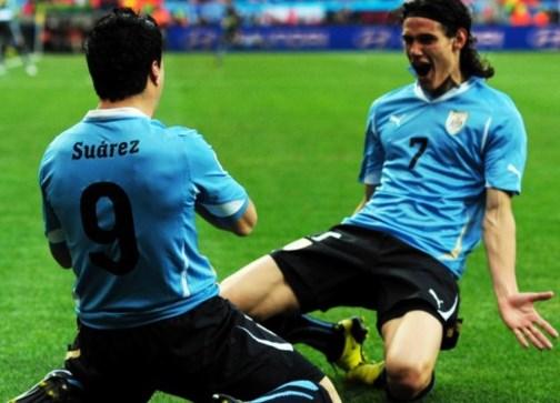 Cavani Suarez Uruguay