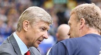 Wenger Moyes Arsenal United