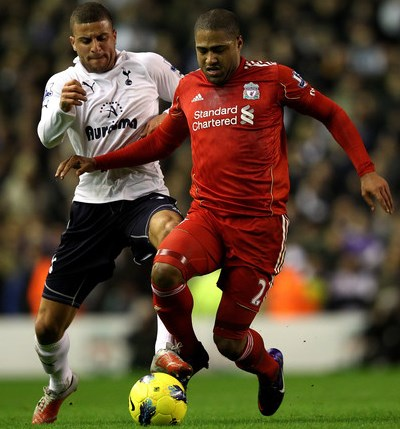 Walker Johnson Spurs Liverpool