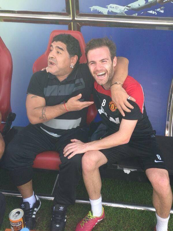 Juan Mata Diego Maradona
