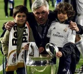 Carlo Ancelotti 2014 Champions League
