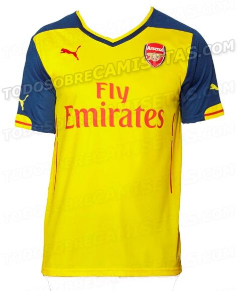 huge selection of 9fd0f b645b Arsenal's Leaked Puma Away Shirt Better than New Home Kit?