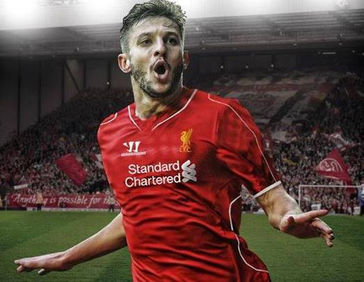 Lallana New LFC Kit