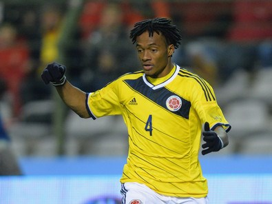Juan Cuadrado Colombia World Cup