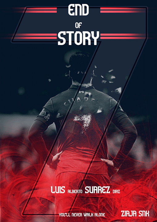 Luis Suarez End of Story Liverpool