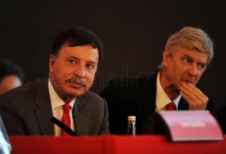 IMAGE – Wenger Looks Worried but Backed by Kroenke ...