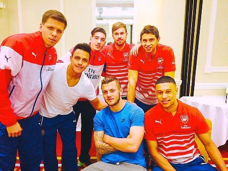 Sanchez Arsenal Team