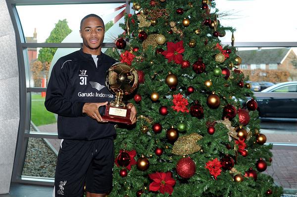 Raheem Sterling Liverpool European Golden Boy Award