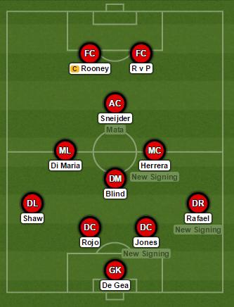 Sneijder Man United XI