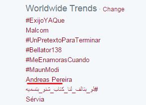 Pereira Trending Worldwide