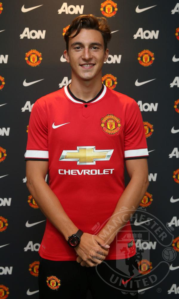 Matteo Darmian Man United