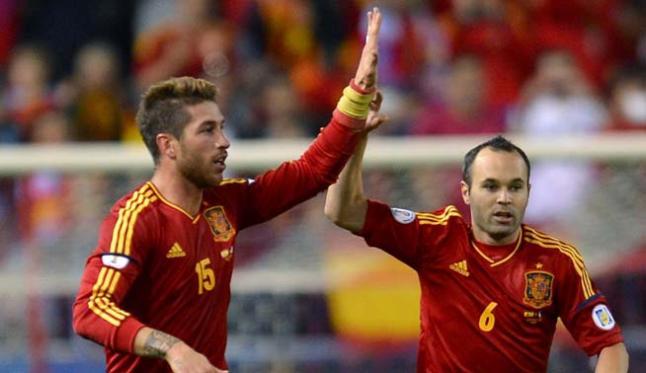 Ramos Iniesta Spain