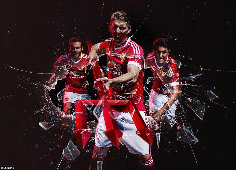 Image Trio In Stunning Adidas Devil Edit Of Man Utd Kit