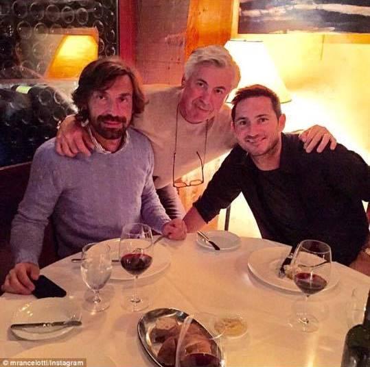 Lampard Pirlo Ancelotti