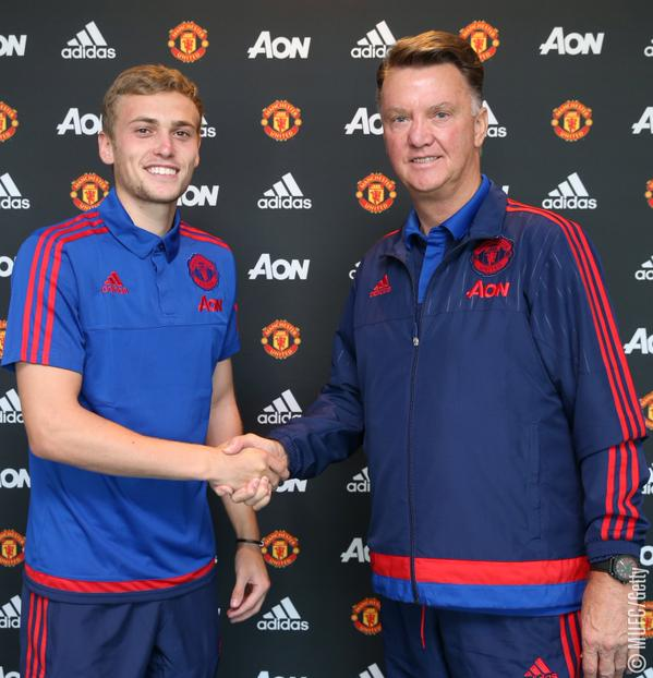 Manchester United James Wilson