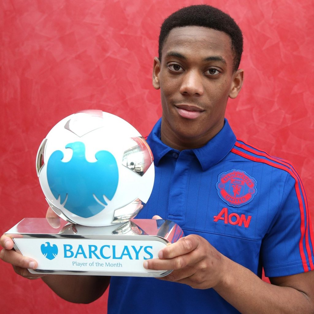 Martial Player of the Month