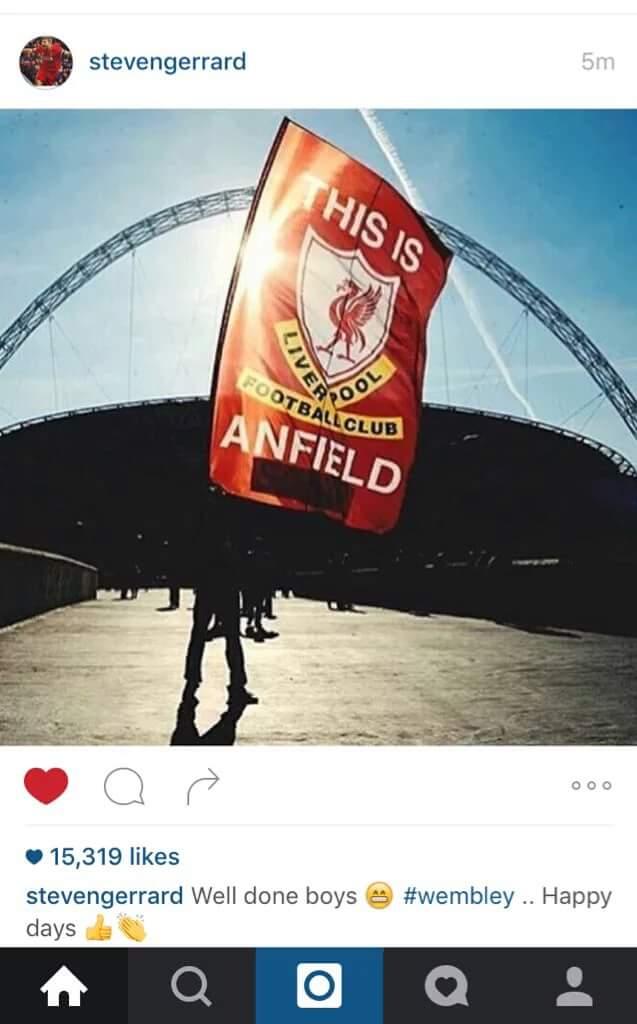Gerrard Wembley