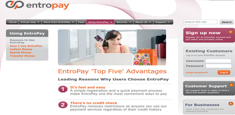 Advantages of Using Entropay
