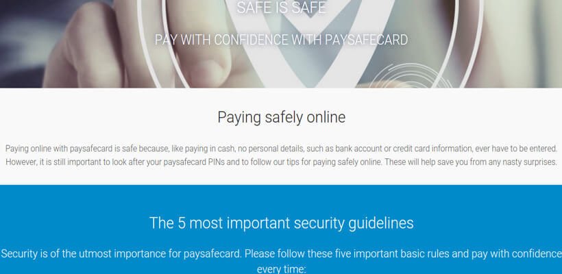 security-paysafecard