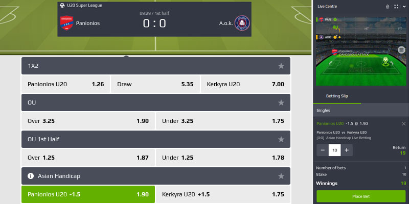 football inplay