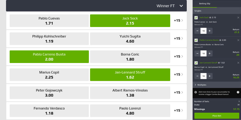 tennis accumulator